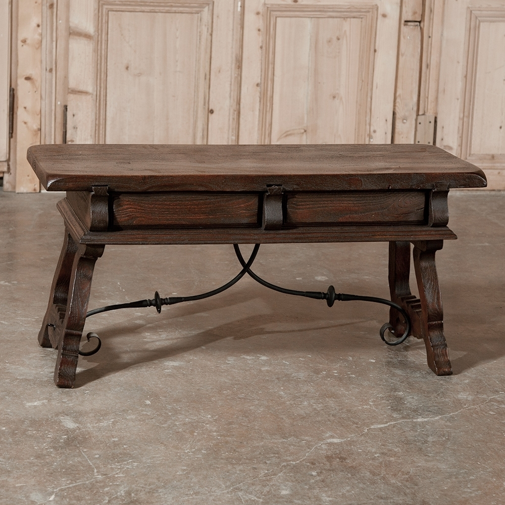 Spanish Coffee Table – Inessa Stewart's Antiques Intended For Spanish Coffee Tables (View 19 of 30)