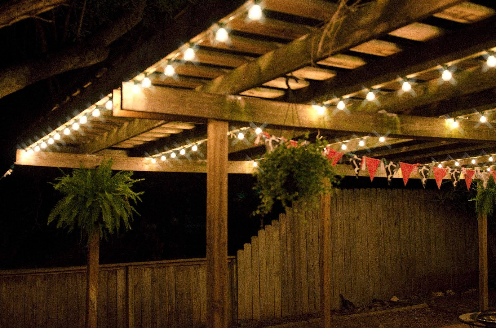 Special Patio String Lights Ideas - All About House Design with Outdoor Lawn Lanterns (Image 16 of 20)