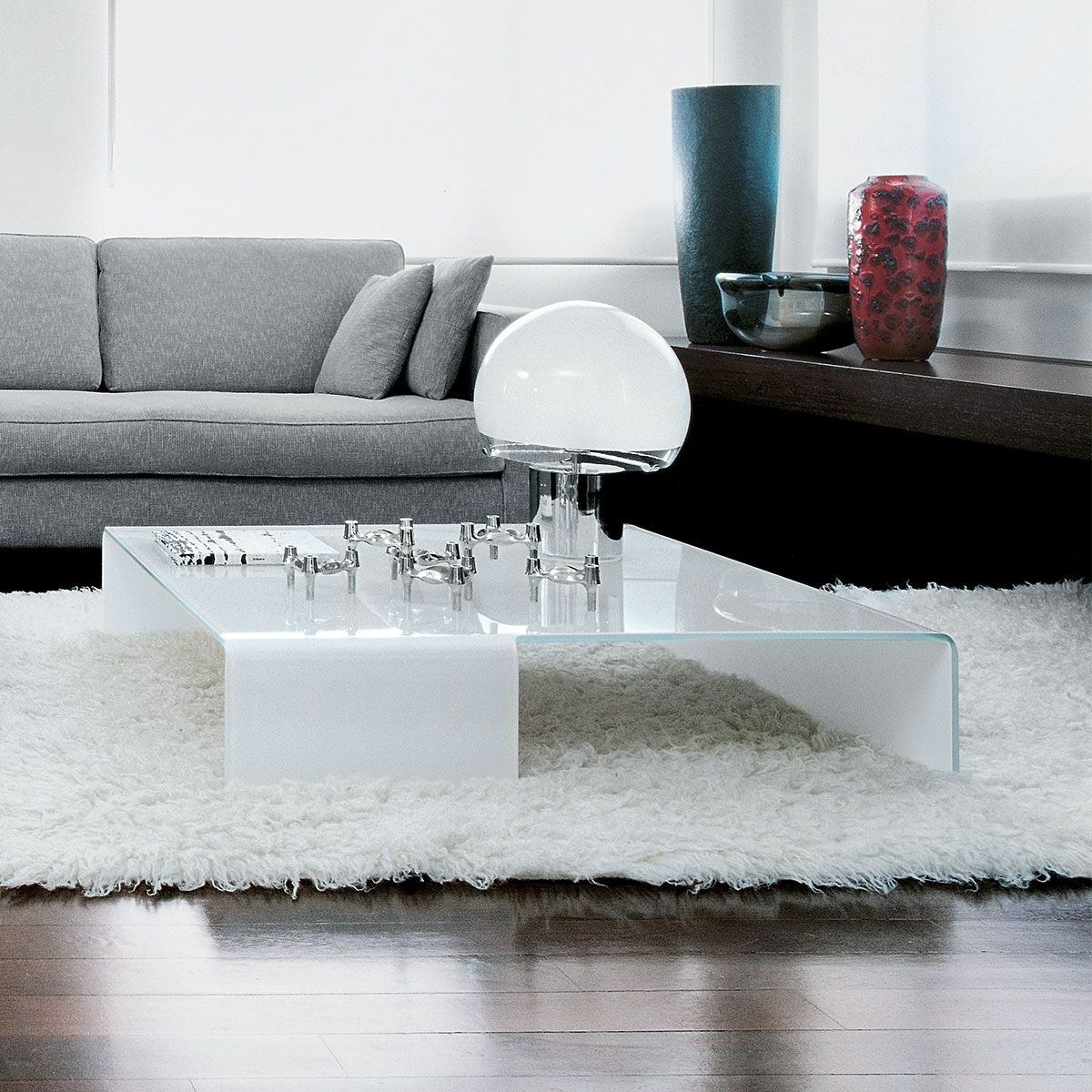 Spider Curved Glass Coffee Tablesovet Italia | For The Home With Contemporary Curves Coffee Tables (View 24 of 30)