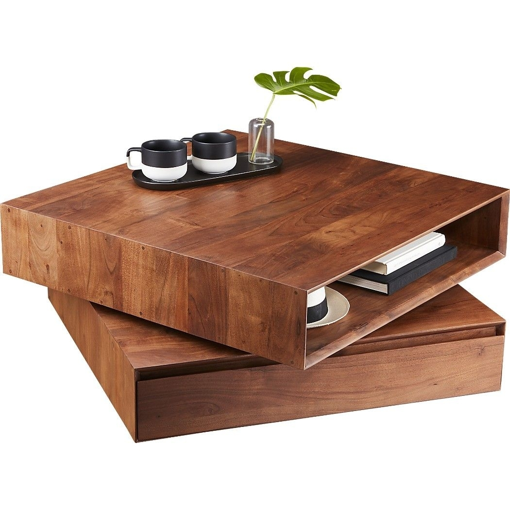 Popular Photo of Spin Rotating Coffee Tables