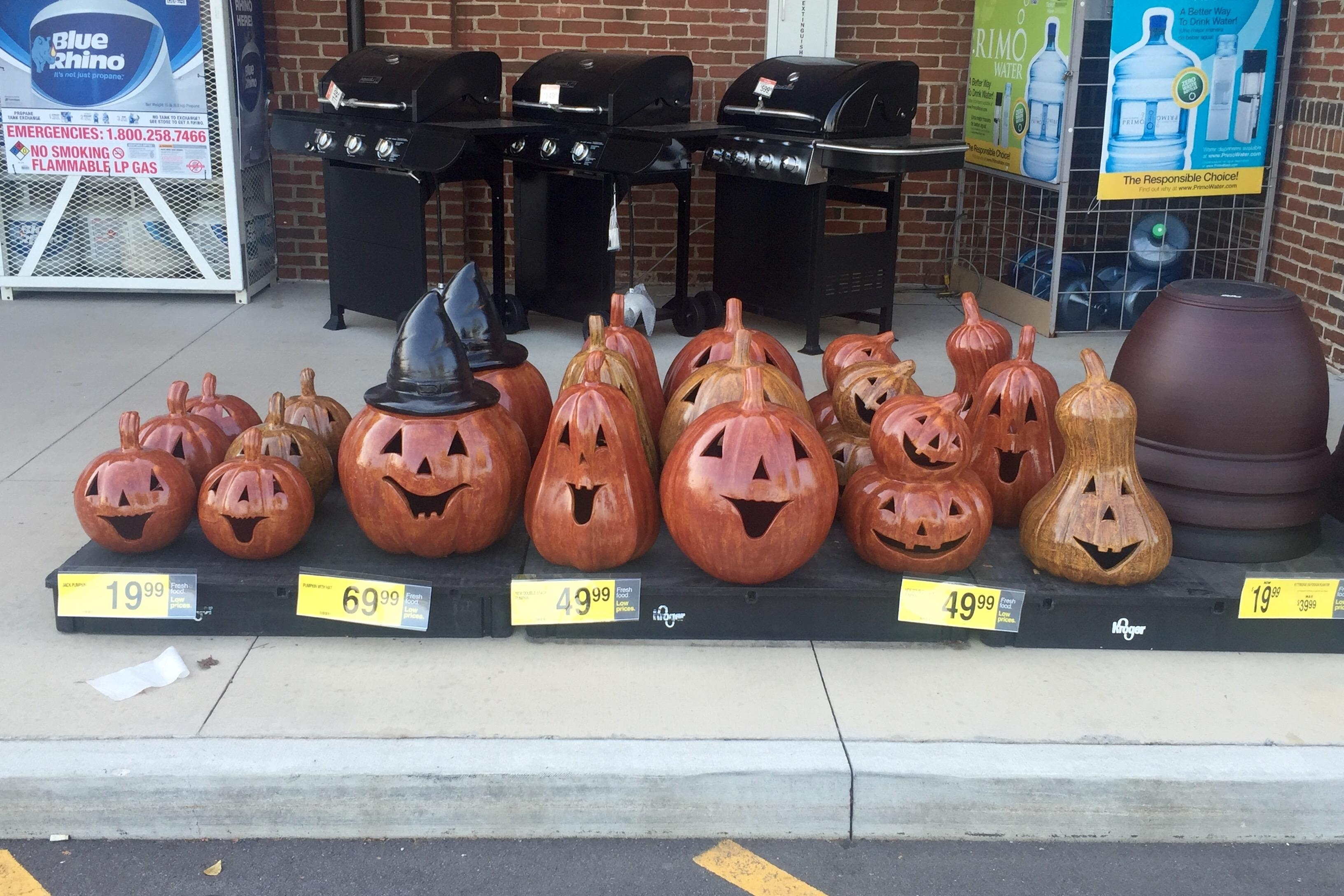 Spotted At Kroger This Morning! : Halloween Pertaining To Kroger Outdoor Lanterns (View 7 of 20)