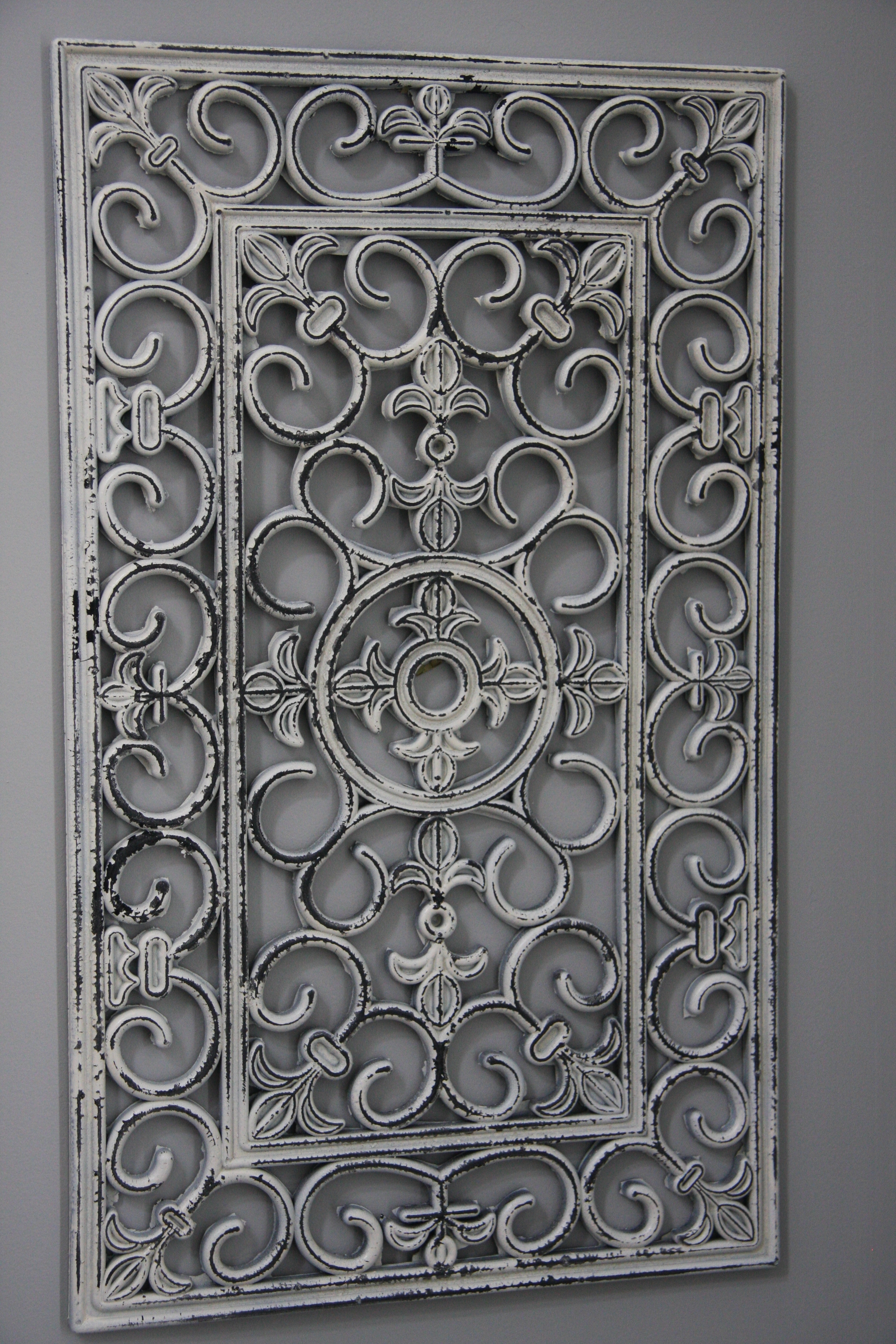 Spring Blog Awesome Wrought Iron Wall Art – Home Design And Wall Regarding Wrought Iron Wall Art (View 2 of 20)