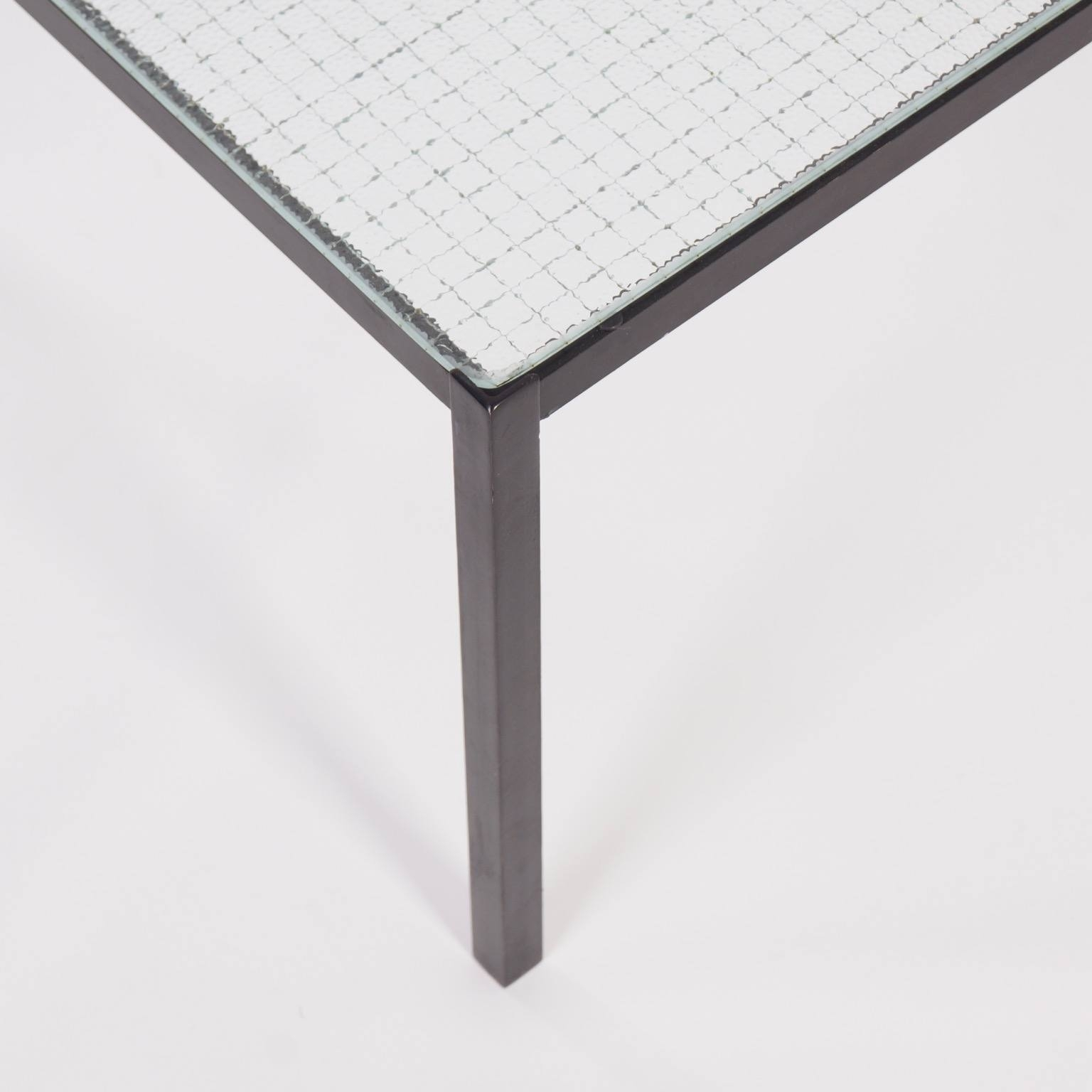 Square Coffee Table With Wire Glass, 1960S - Ztijl | Vintage Design with regard to Black Wire Coffee Tables (Image 19 of 30)