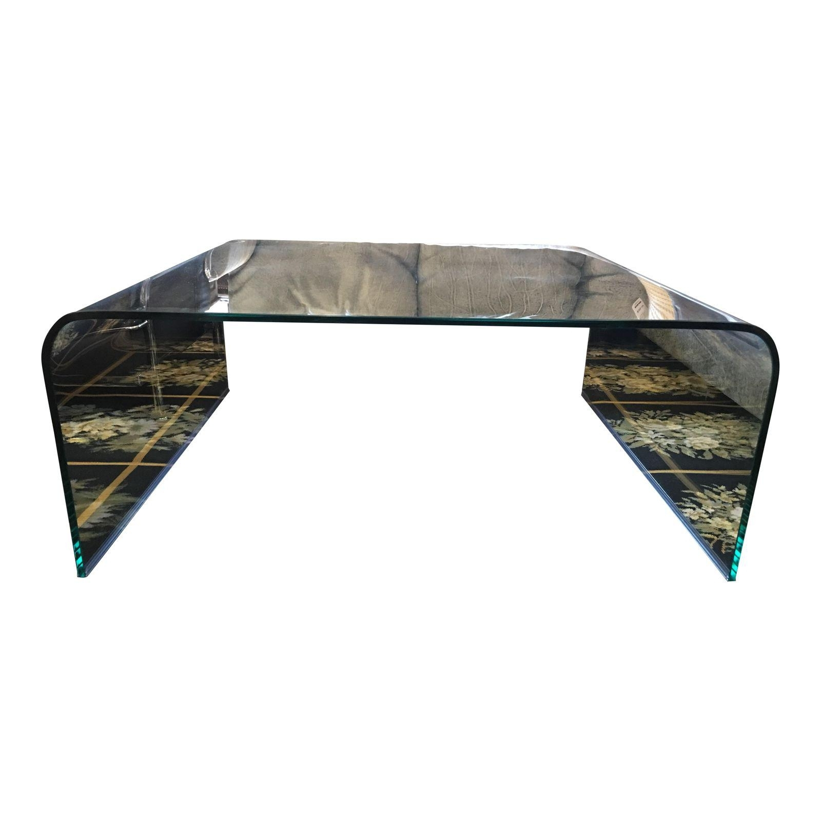 Square-Glass-Waterfall-Coffee-Table-2702 - Design Plus Gallery for Square Waterfall Coffee Tables (Image 21 of 30)