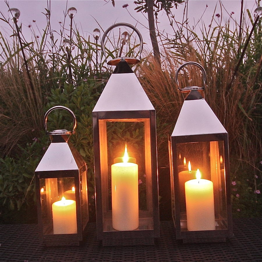 St Mawes Hurricane Garden Lanternlondon Garden Trading in Outdoor Storm Lanterns (Image 16 of 20)