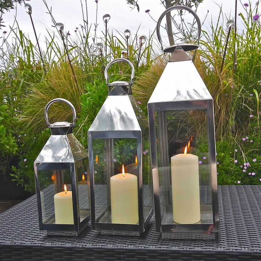 St Mawes Hurricane Garden Lanternlondon Garden Trading inside Outdoor Indian Lanterns (Image 19 of 20)