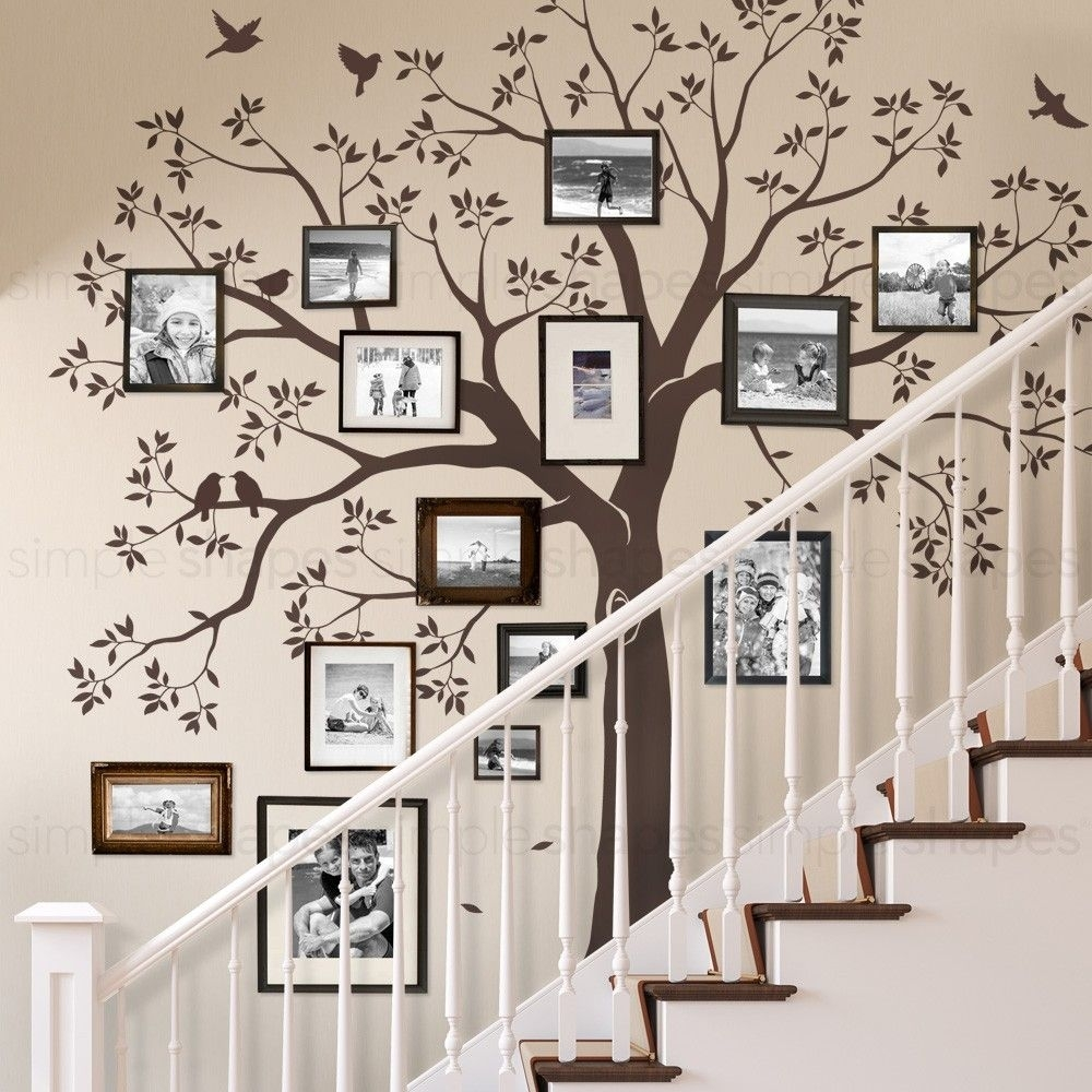 Staircase Family Tree Wall Decal … | Home Decor | Pinterest | Family inside Tree Wall Art (Image 13 of 20)