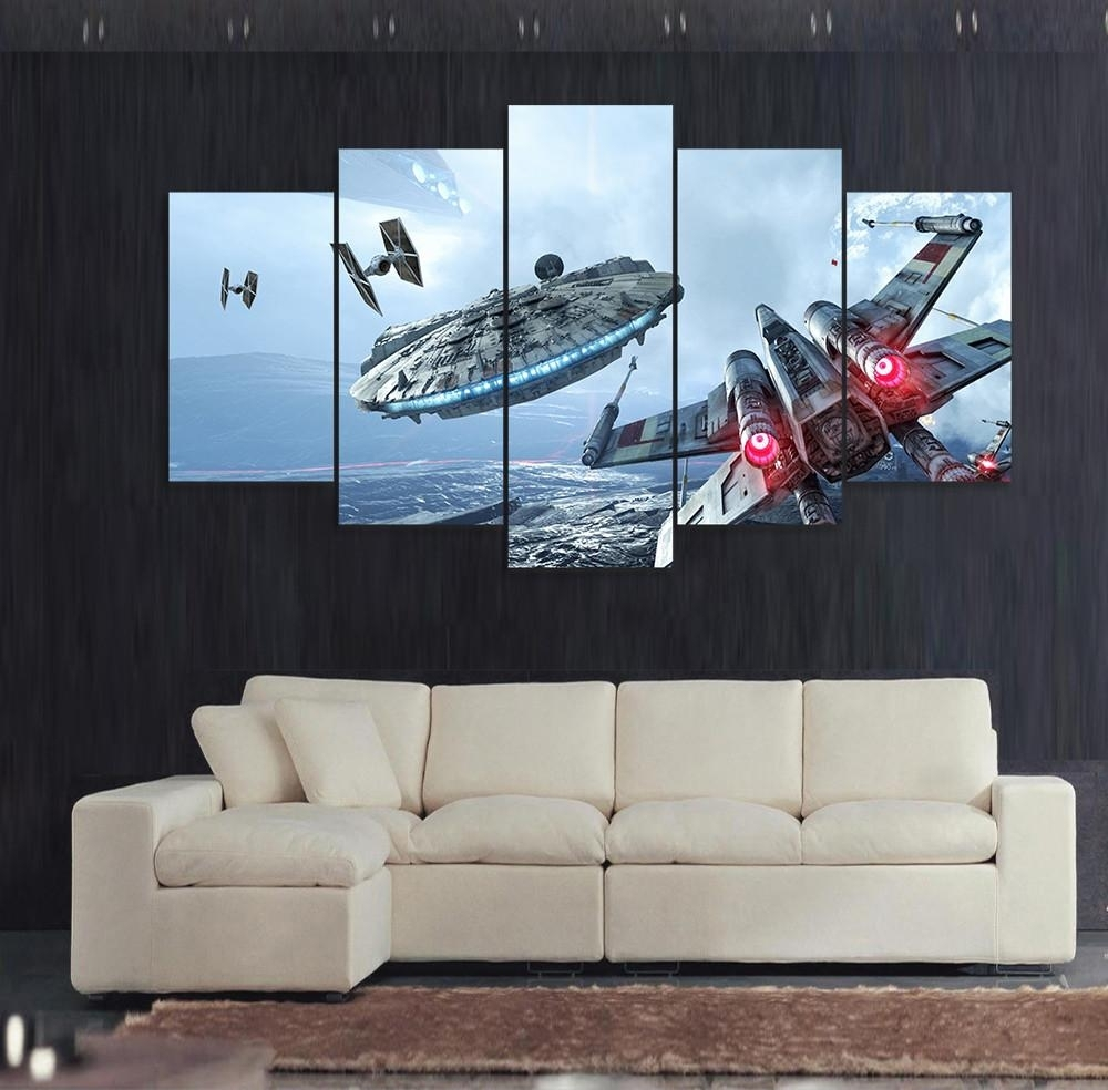 Star Wars Wall Art Color : Andrews Living Arts – Fantastic Room With With Star Wars Wall Art (View 17 of 20)