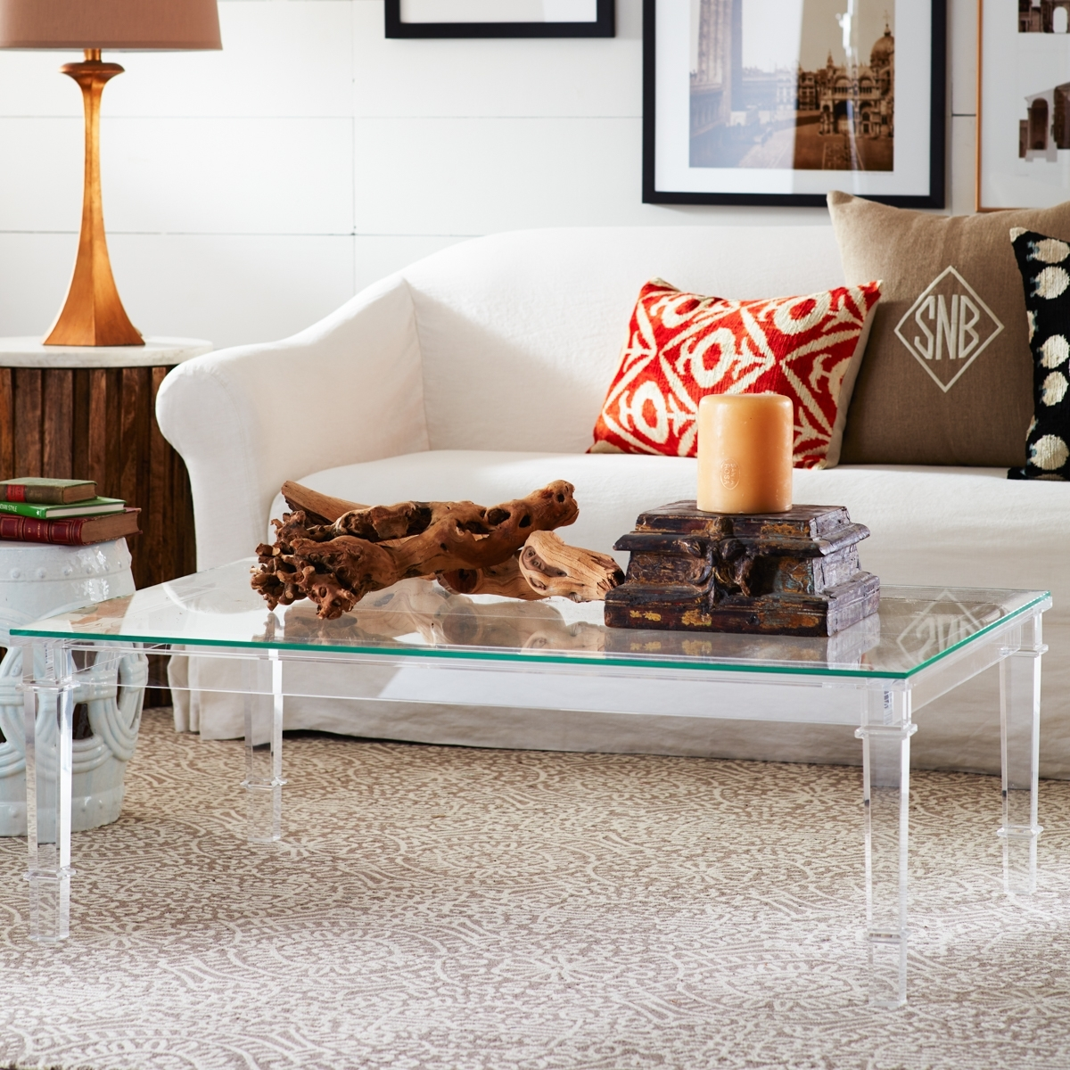 Popular Photo of Stately Acrylic Coffee Tables