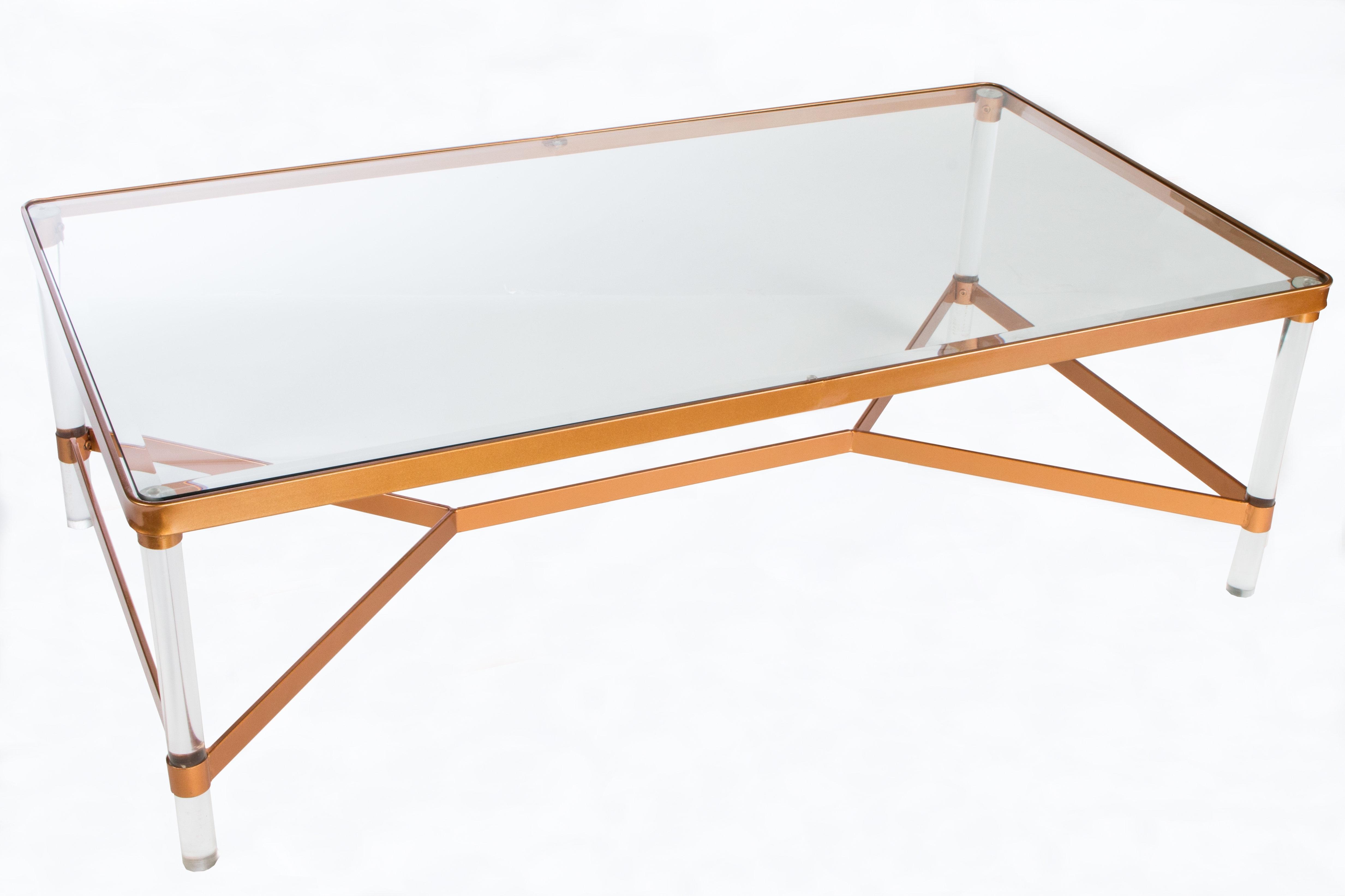 Statementsj Mireille Acrylic Coffee Table | Wayfair with Peekaboo Acrylic Coffee Tables (Image 28 of 30)