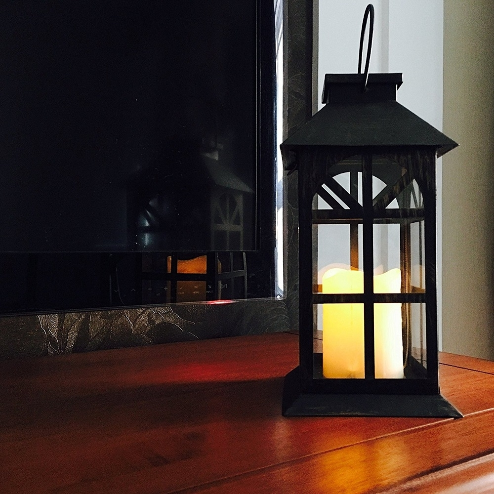 Steadydoggie Indoor Outdoor Solar Lantern For Patio And Garden Intended For Outdoor Lawn Lanterns (View 17 of 20)