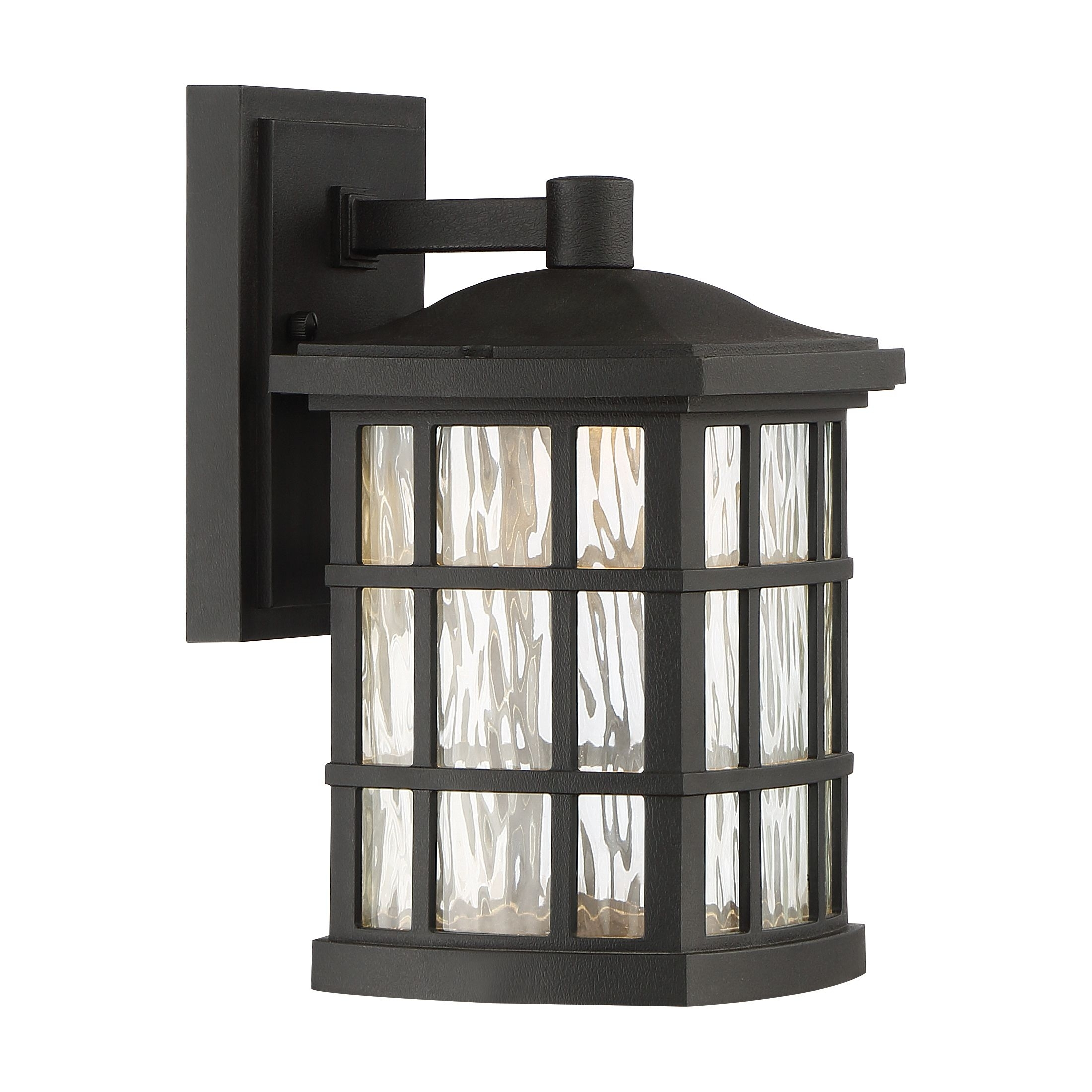 Stonington Led Outdoor Lantern | Quoizel With Outdoor Lanterns With Led Lights (View 15 of 20)