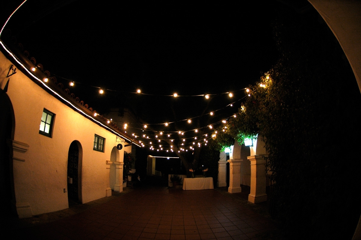 String Lights Outdoor Ideas How To Hang Diy Globe Christmas Hanging in Outdoor Lanterns On String (Image 17 of 20)