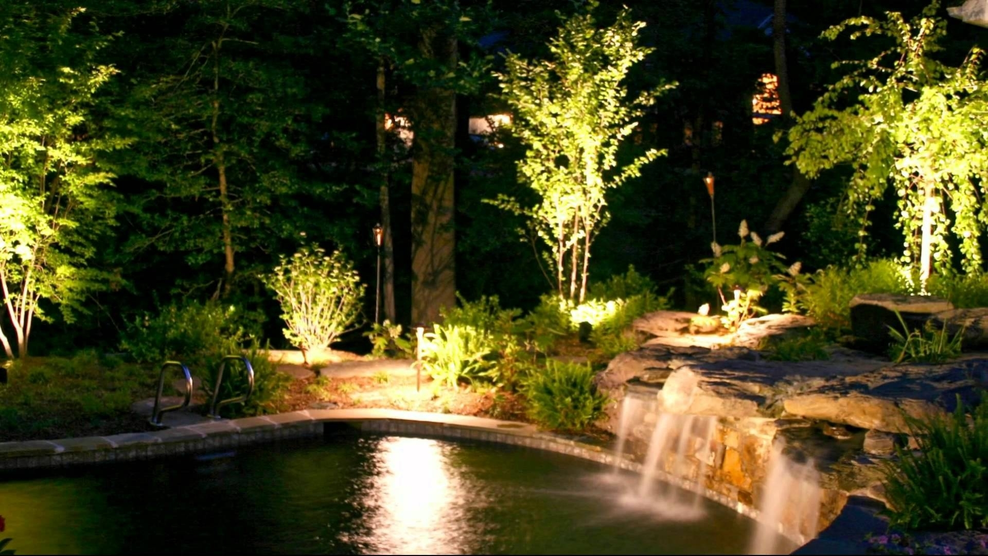 Stunning Outdoor Lighting Ideas - Youtube within Outdoor Yard Lanterns (Image 19 of 20)