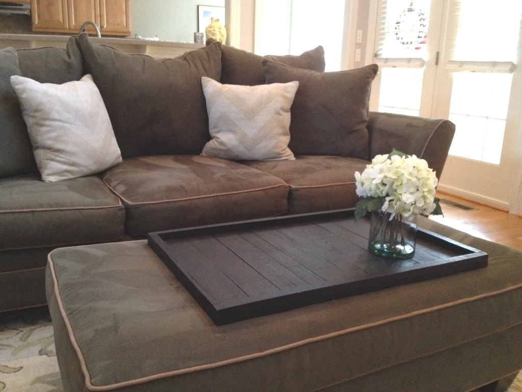Stylish Oversized Ottoman Tray | Editeestrela Design for Mill Large Leather Coffee Tables (Image 26 of 30)