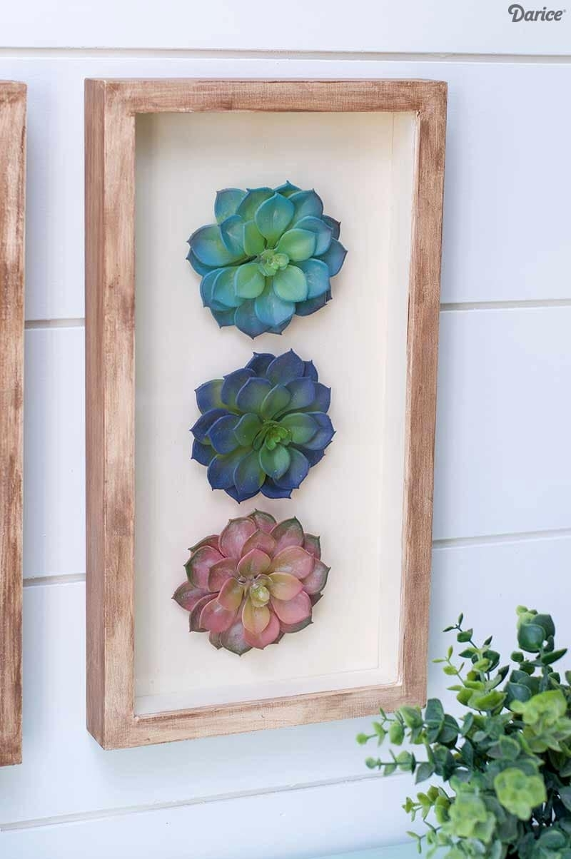Succulent Wall Art for Succulent Wall Art (Image 13 of 20)