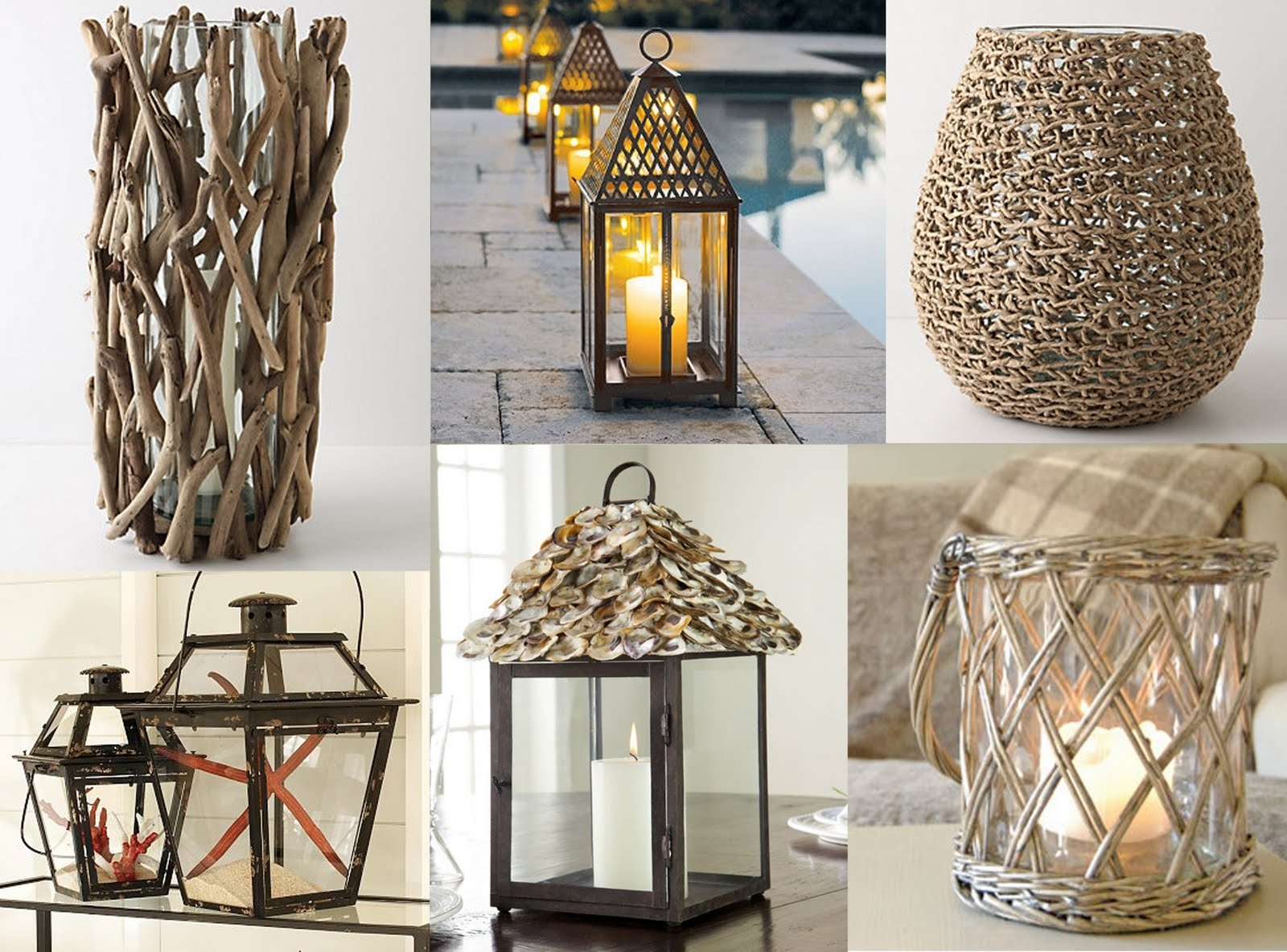 Sugar + Oysters: Hurricane Lanterns with Outdoor Hurricane Lanterns (Image 20 of 20)