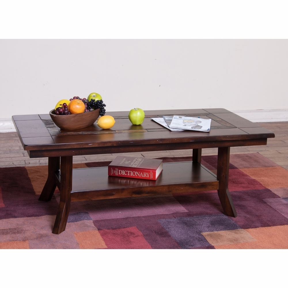 Sunny Designs – Santa Fe Coffee Table – 3175Dc C Intended For Santa Fe Coffee Tables (View 18 of 30)