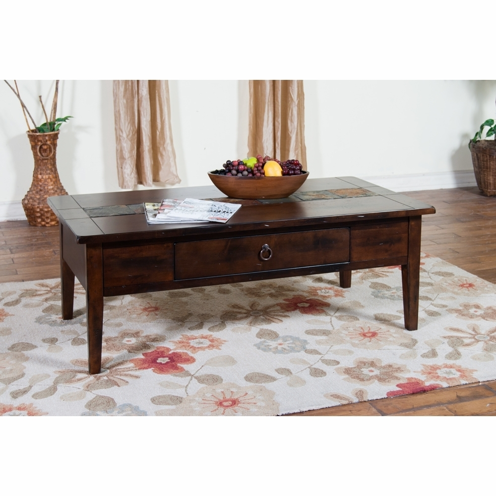 Sunny Designs – Santa Fe Coffee Table – 3176Dc C Throughout Santa Fe Coffee Tables (View 19 of 30)