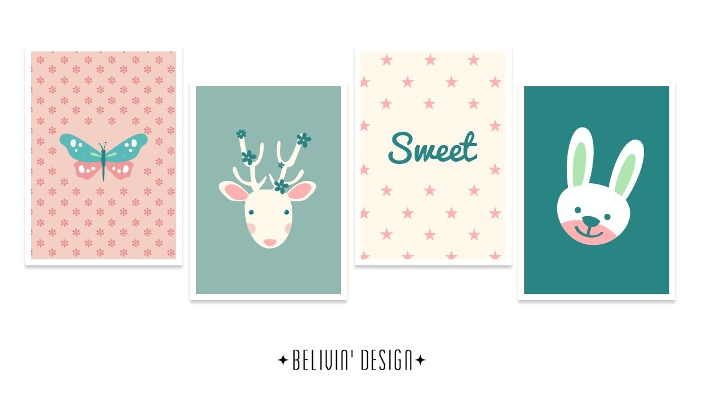 Sweet Baby Wall Decor – Free Printable – Belivindesign Regarding Free Printable Wall Art Decors (View 12 of 20)