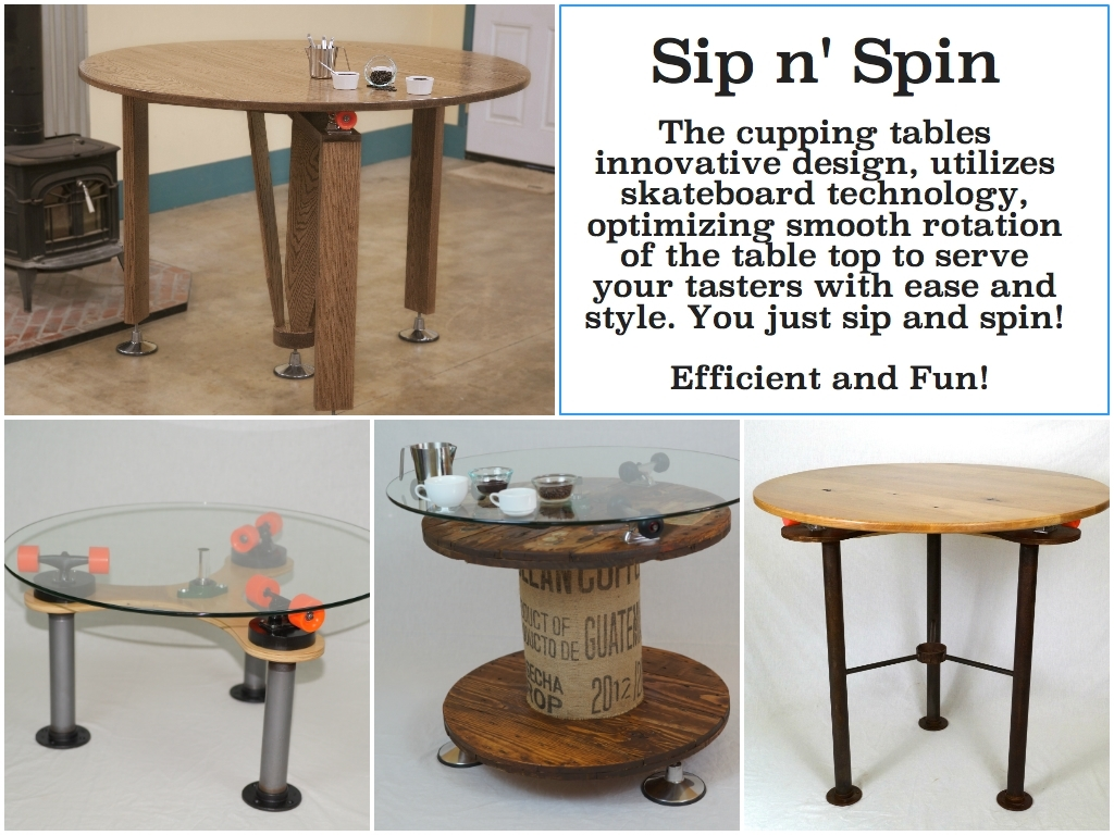 Tales From A Female Woodworker | Ideas And How To's Cuz Creating Is Fun! Intended For Spin Rotating Coffee Tables (View 27 of 30)