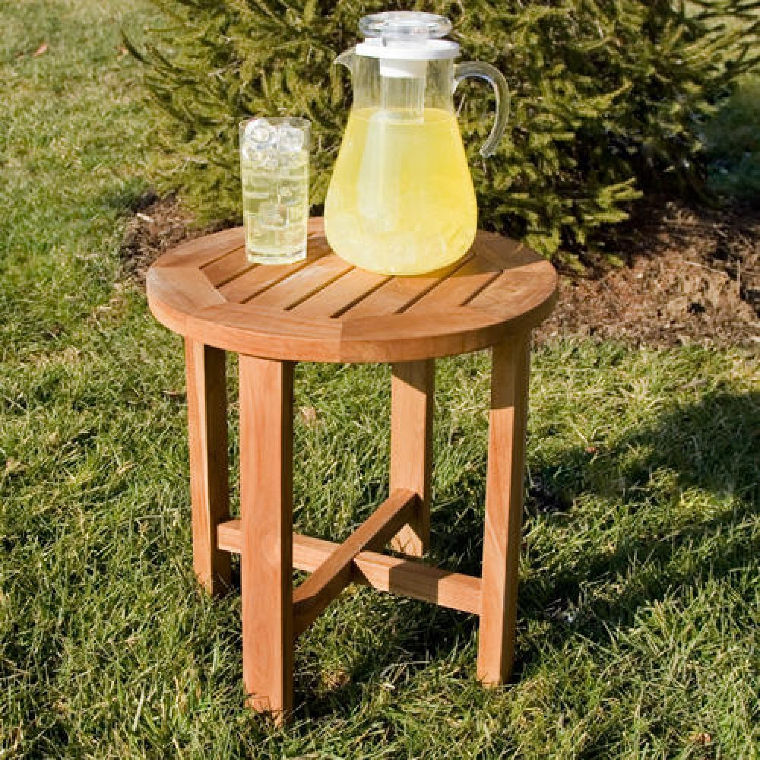 Tall Teak Coffee Table Outdoor — New Home Design : The Elegance Of pertaining to Round Teak Coffee Tables (Image 24 of 30)
