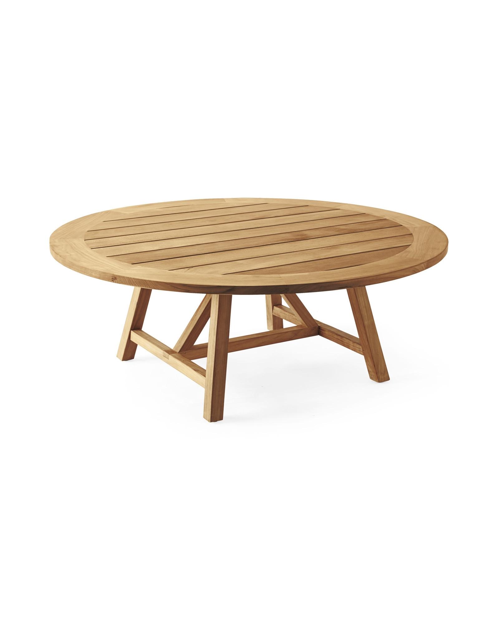 Teak Coffee Table Outdoor Fresh Round Teak Coffee Table intended for Round Teak Coffee Tables (Image 25 of 30)