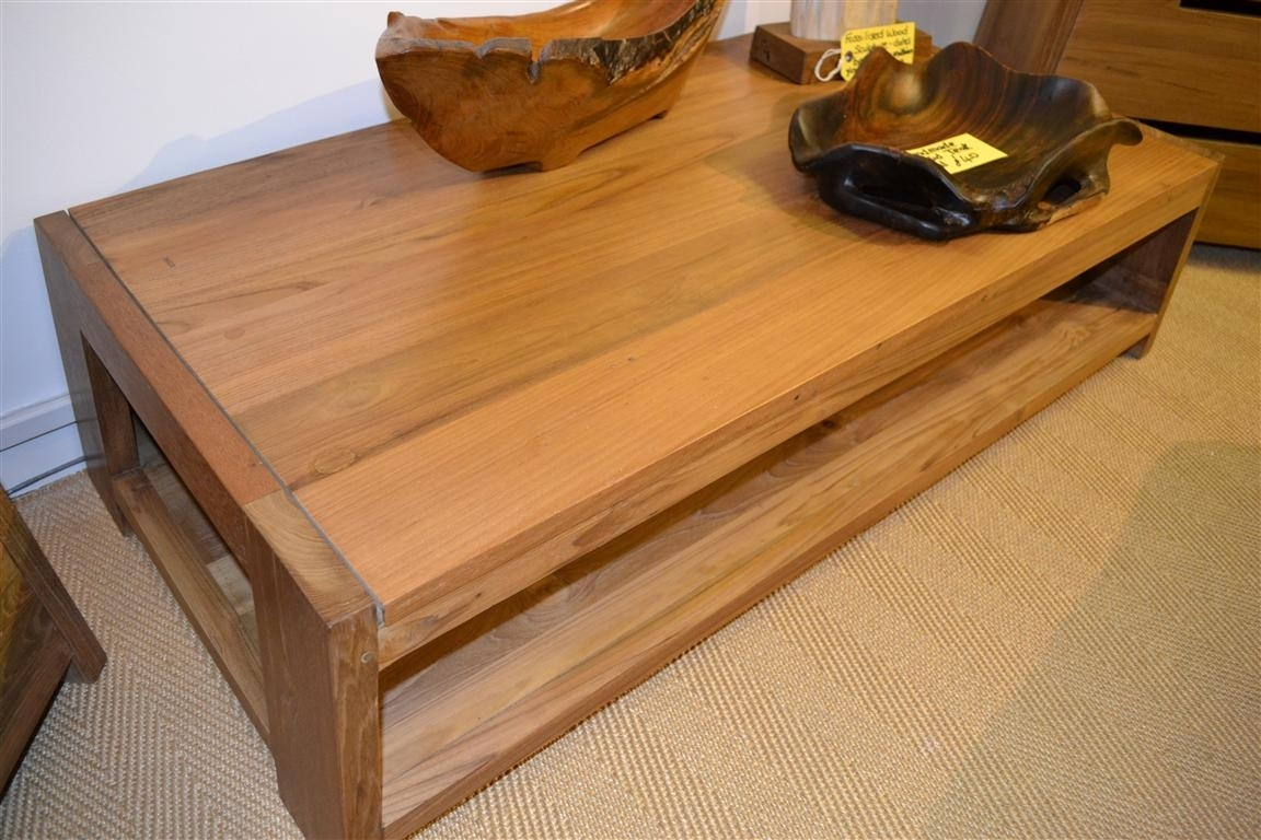 Teak Coffee Tables — The New Way Home Decor : Unique Teak Coffee within Large Teak Coffee Tables (Image 25 of 30)