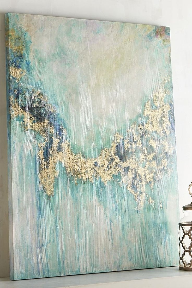 Teal Visions Abstract Wall Art | Wall Decor | Pinterest | Handsome with regard to Teal Wall Art (Image 18 of 20)
