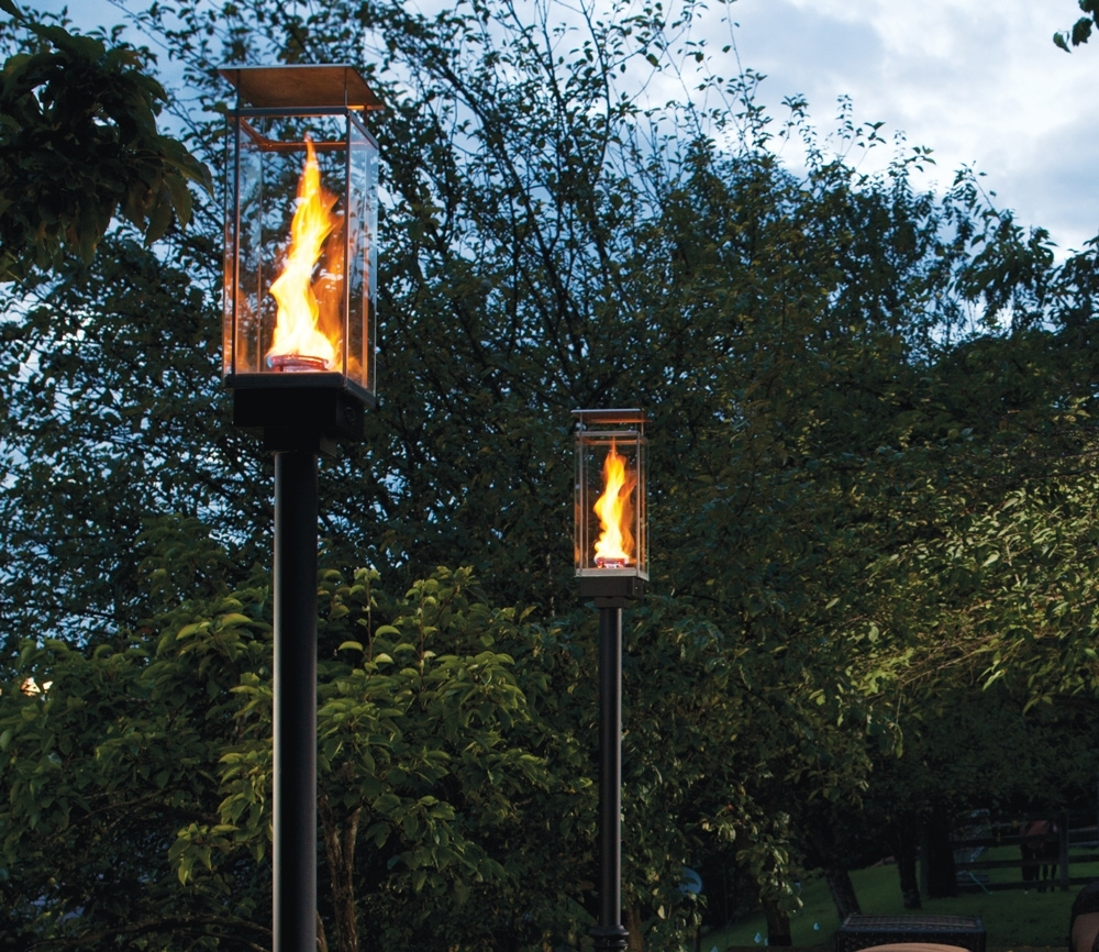 Tempest Torch – Outdoor Gas Lamps And Lighting Intended For Outdoor Gel Lanterns (View 14 of 20)