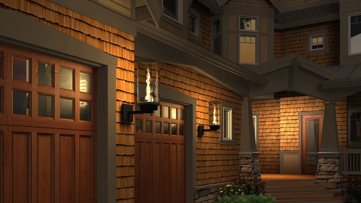 Tempest Torch – Outdoor Gas Lamps And Lighting With Outdoor Garage Lanterns (View 9 of 20)