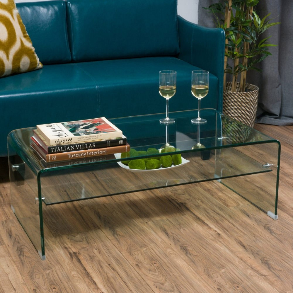 The Best Glass Coffee Tables Under $200 Inside Smart Glass Top Coffee Tables (View 26 of 30)