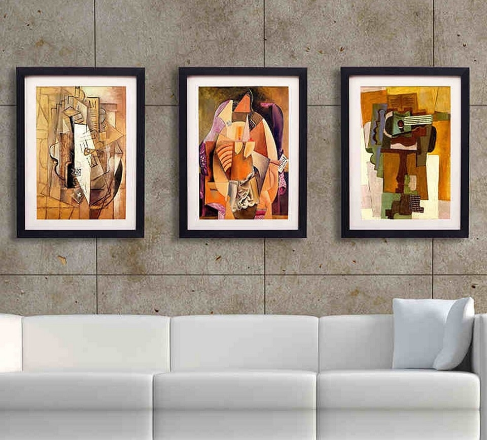 The Best Wall Art For Your Living Room | Alford Town Plan Pertaining To Wall Art For Living Room (View 10 of 20)