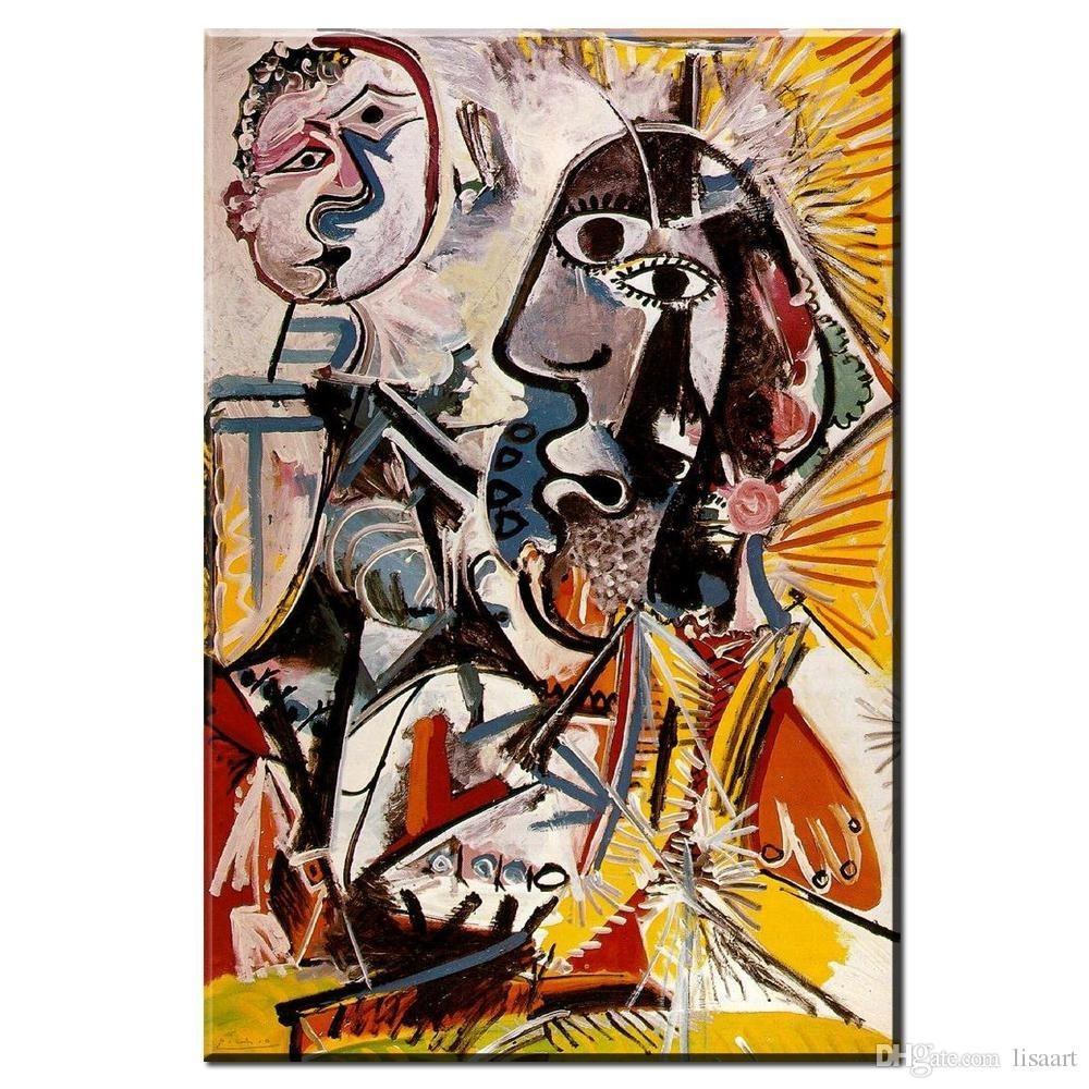 The Best Zz Pablo Picasso Cuadros Wall Art Cheap Painting Image For With Regard To Discount Wall Art (View 20 of 20)