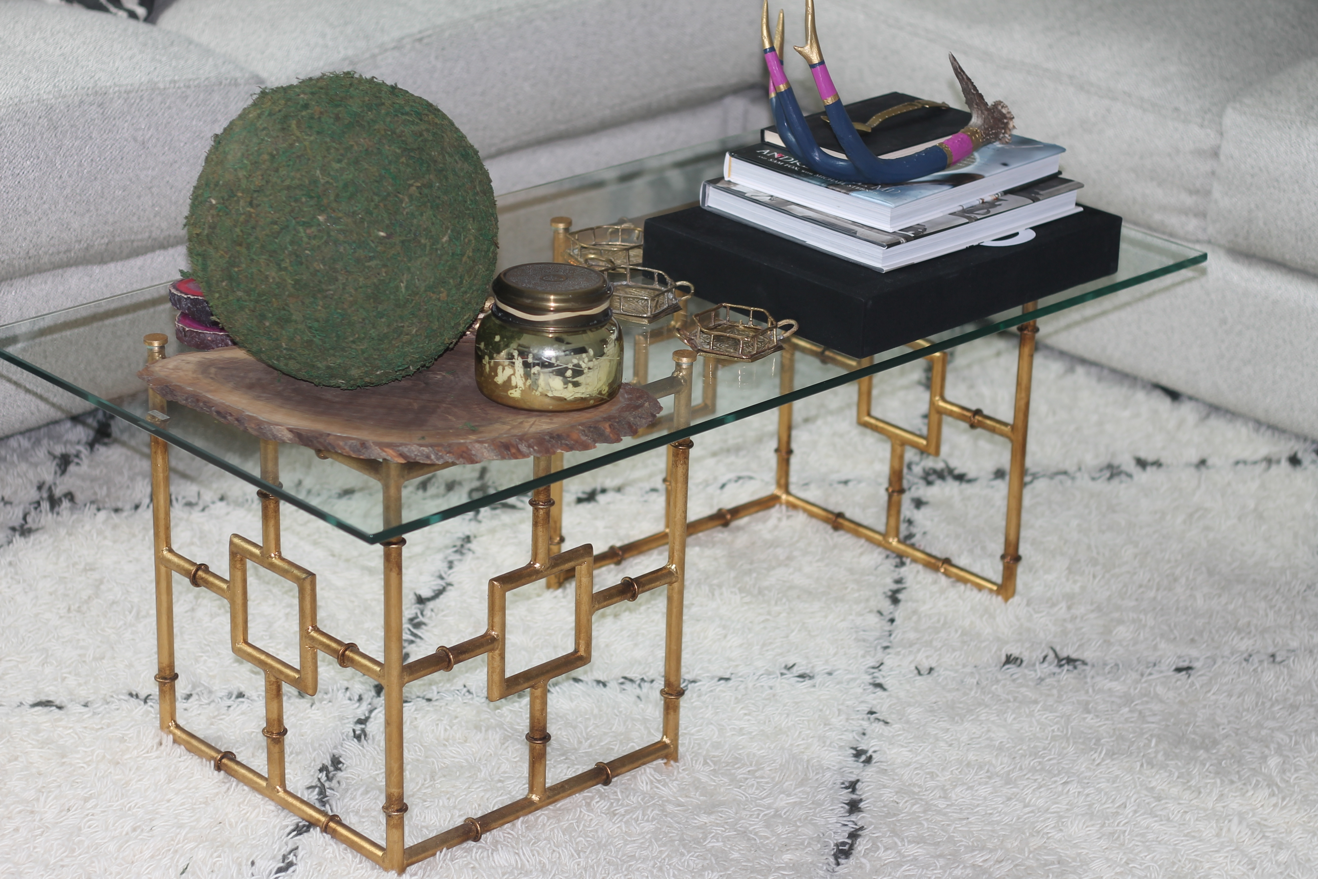 The Brass & The Beautiful « The Interior Stylist in Cacti Brass Coffee Tables (Image 28 of 30)