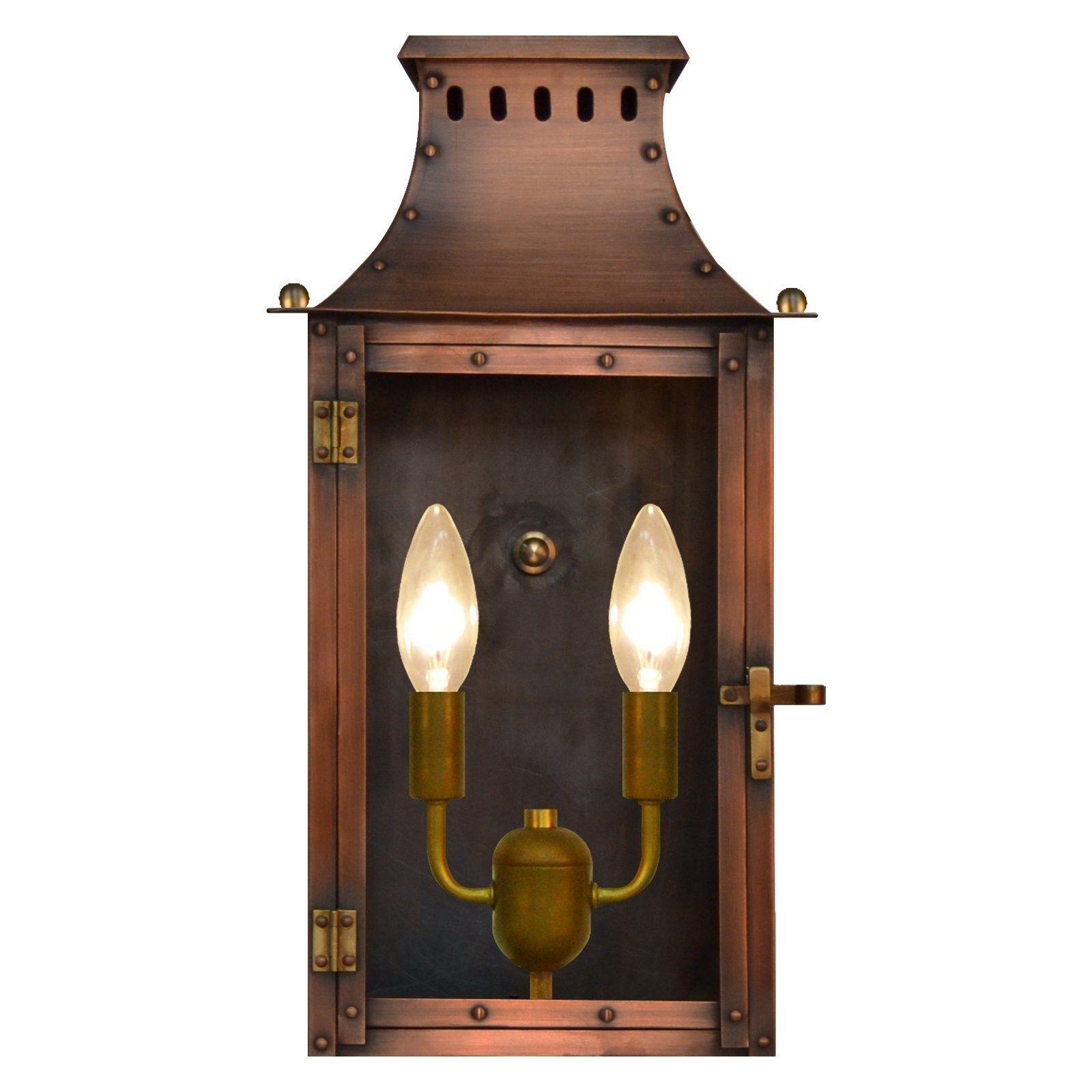 The Coppersmith York Town Yk Outdoor Flush Mount Lantern – Yk 16E Regarding Copper Outdoor Electric Lanterns (View 19 of 20)