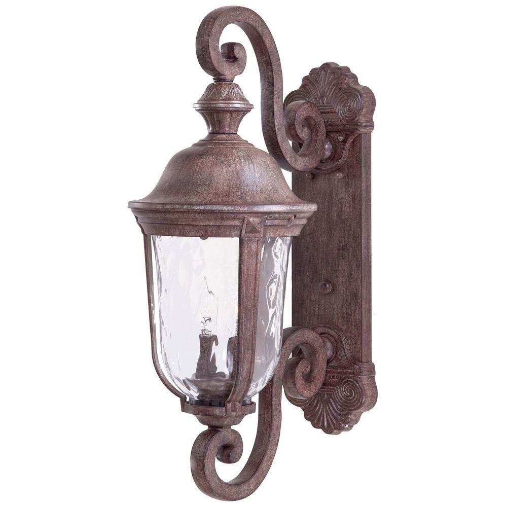The Great Outdoorsminka Lavery Ardmore 2 Light Vintage Rust For Vintage Outdoor Lanterns (View 8 of 20)