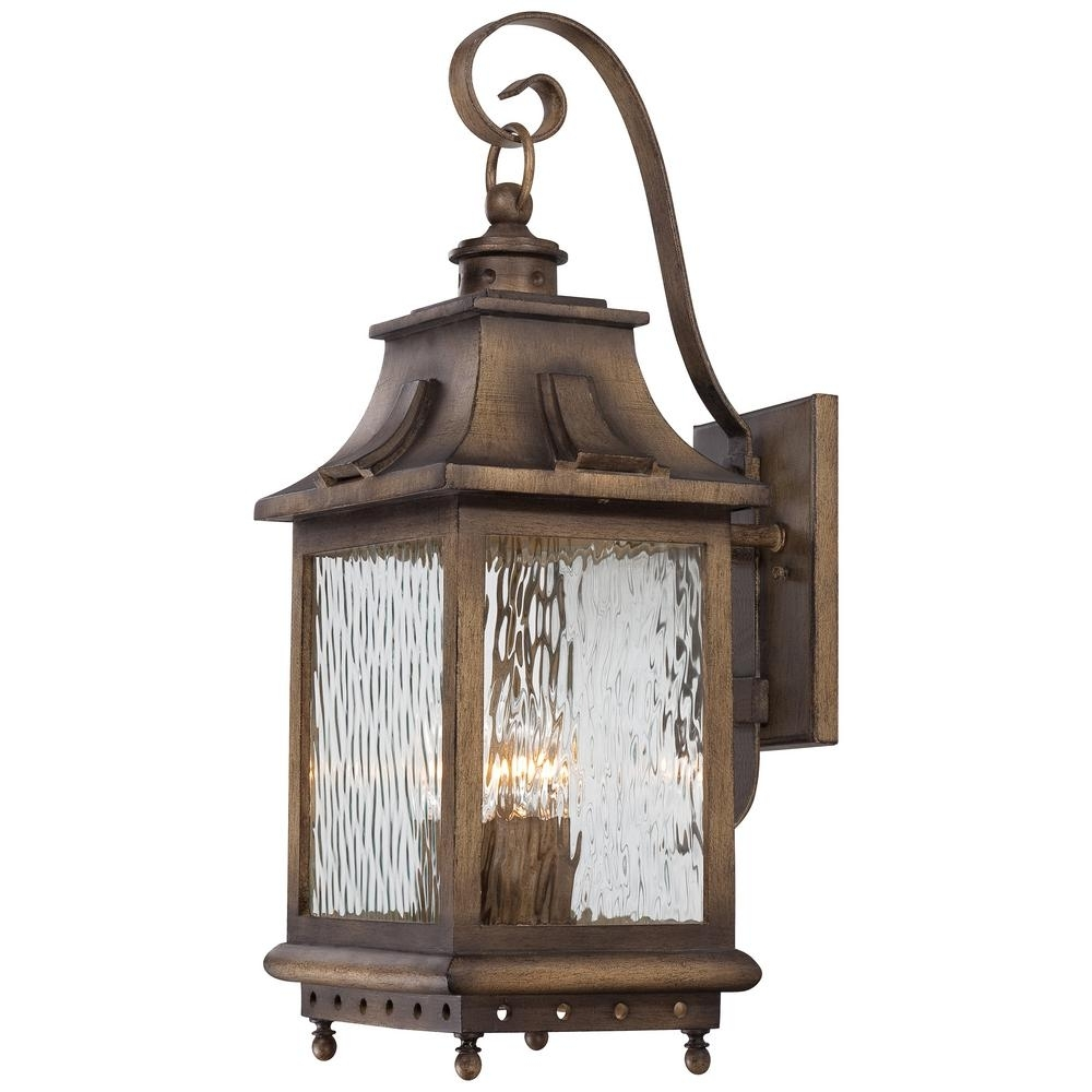 The Great Outdoorsminka Lavery Wilshire Park 4-Light Portsmouth within Set Of 3 Outdoor Lanterns (Image 20 of 20)