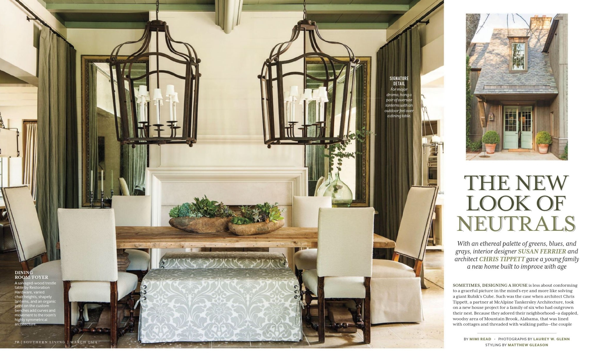 The New Look Of Neutrals – Interiorscolor In Outdoor Oversized Lanterns (View 9 of 20)