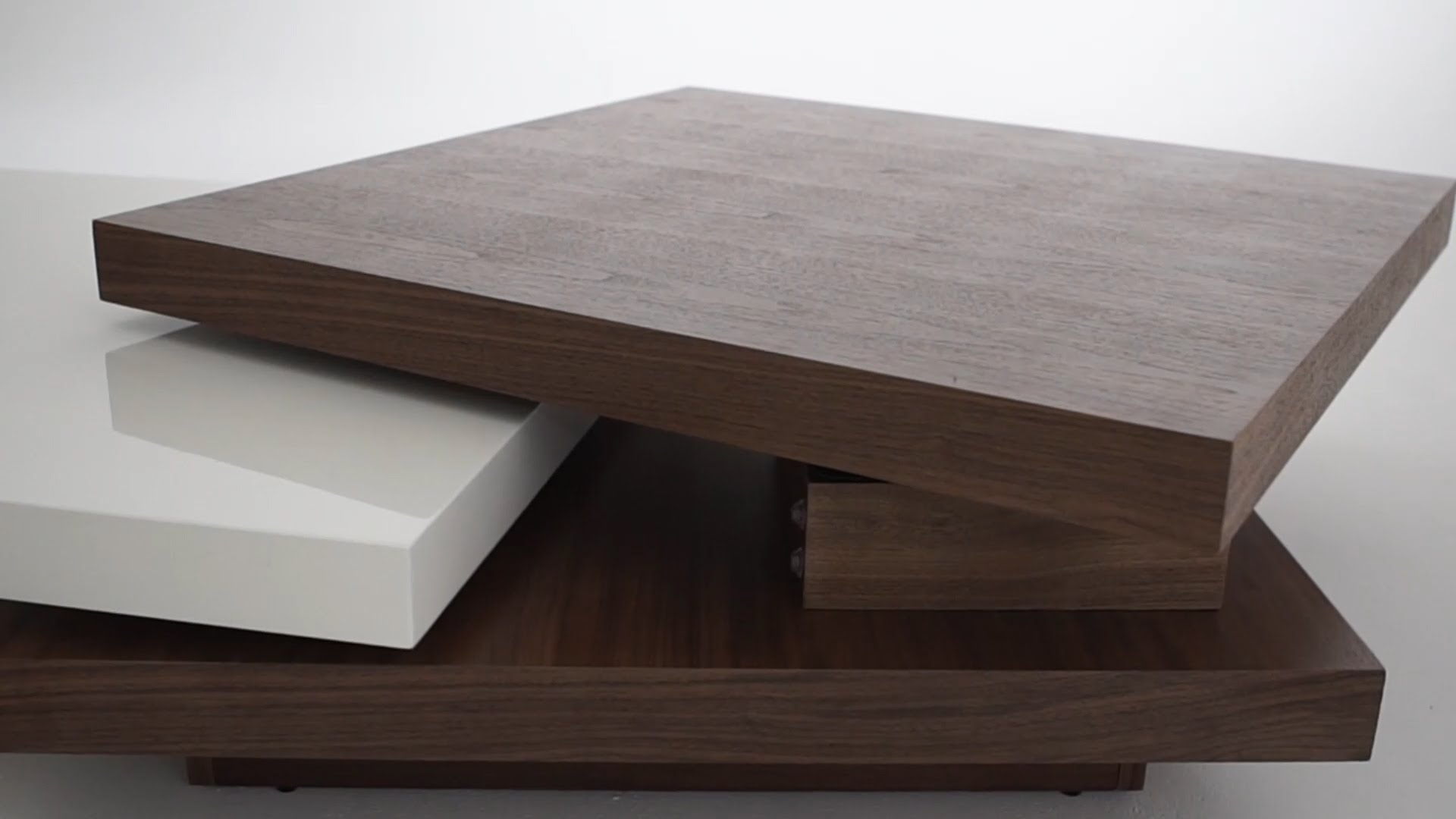 The Picasso Coffee Table - Structube - Youtube within Spin Rotating Coffee Tables (Image 29 of 30)