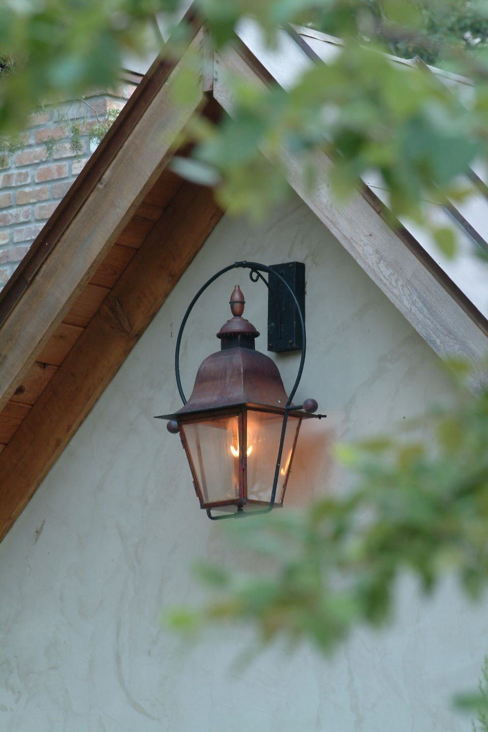 The Provence Lantern — Gas Or Electric | The Architectural Series in Outdoor Electric Lanterns (Image 18 of 20)