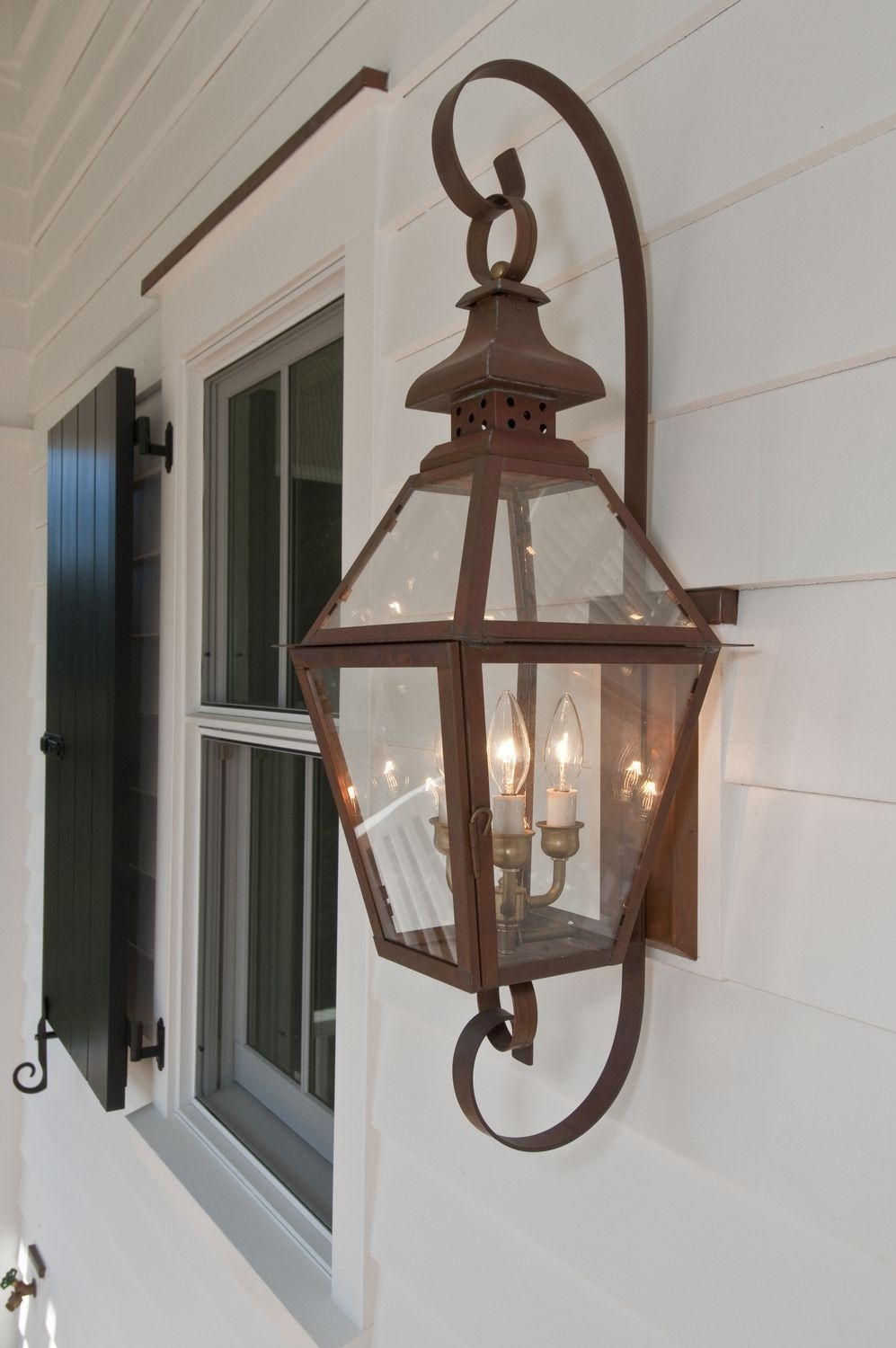The Tradd Street Ii Lantern — Gas Or Electric | The Collection Inside Outdoor Electric Lanterns (View 19 of 20)