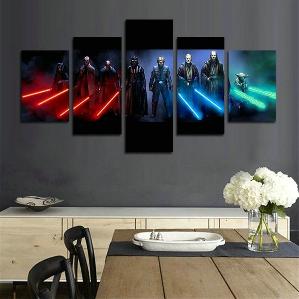 These Are The Star Wars Wall Art You're Looking For | Pinterest Pertaining To Star Wars Wall Art (View 19 of 20)