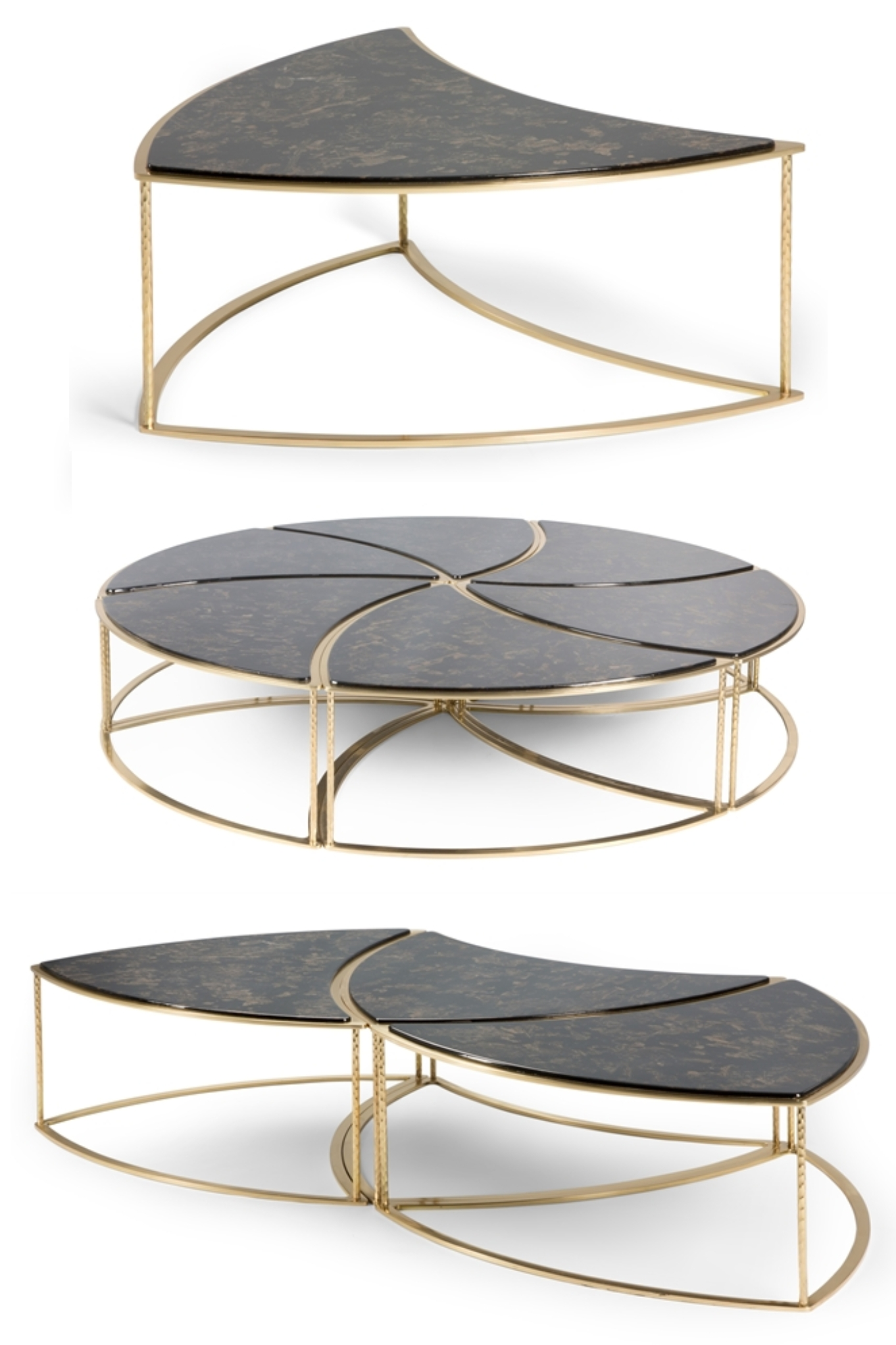 This Unique 6 Piece Modular Coffee Table Is Available In 3 Different regarding Modular Coffee Tables (Image 28 of 30)
