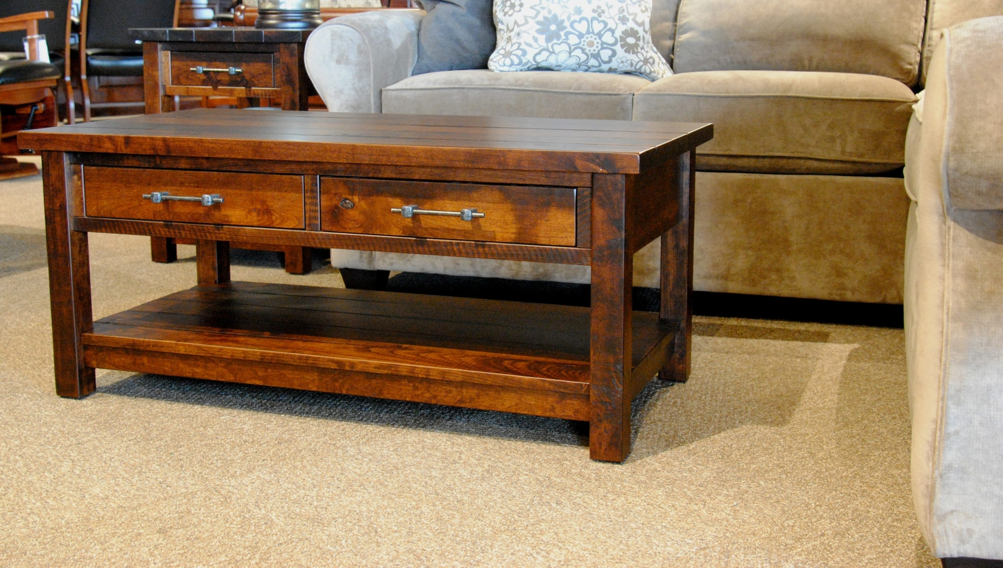 Timber Mill Coffee Table – Gish's Amish Legacies Intended For Mill Coffee Tables (Image 27 of 30)