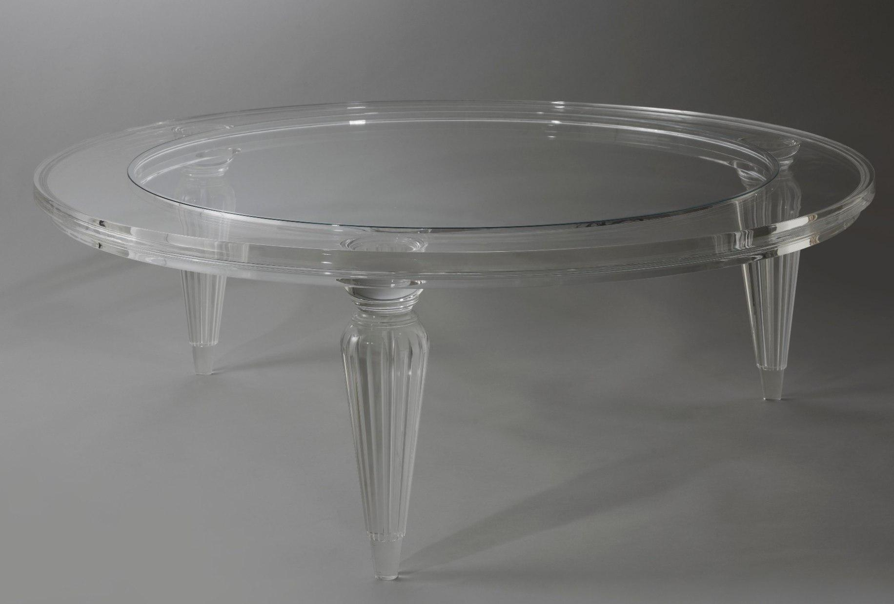 Tips Round Acrylic Coffee Table - Acrylic Coffee Table Cleaning And with Peekaboo Acrylic Coffee Tables (Image 29 of 30)
