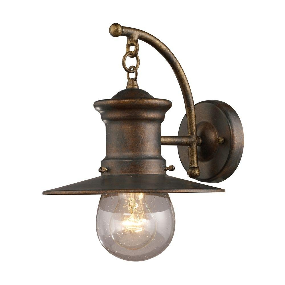 Titan Lighting Maritime Wall Mount Outdoor Hazelnut Bronze Sconce-Tn pertaining to Outdoor Nautical Lanterns (Image 17 of 20)