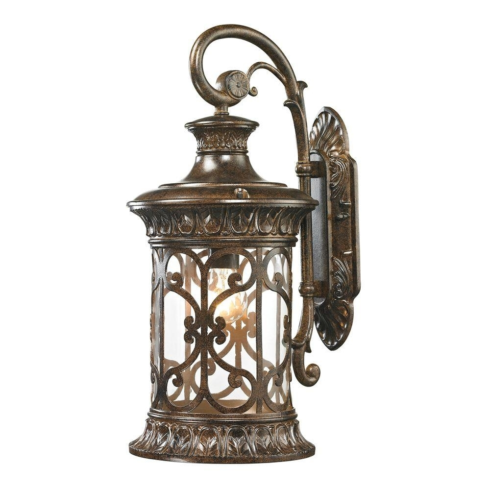 Titan Lighting Marius Collection Light Hazelnut Bronze Outdoor With Inexpensive Outdoor Lanterns (View 18 of 20)
