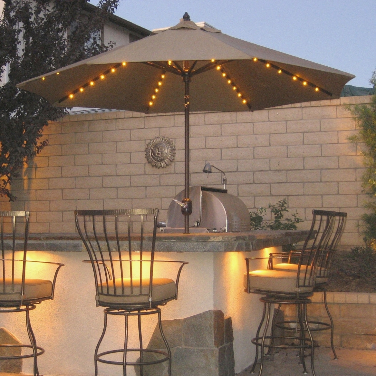 Top Seven Fantastic Experience Of | The Interior Design Ideas With Outdoor Umbrella Lanterns (View 16 of 20)