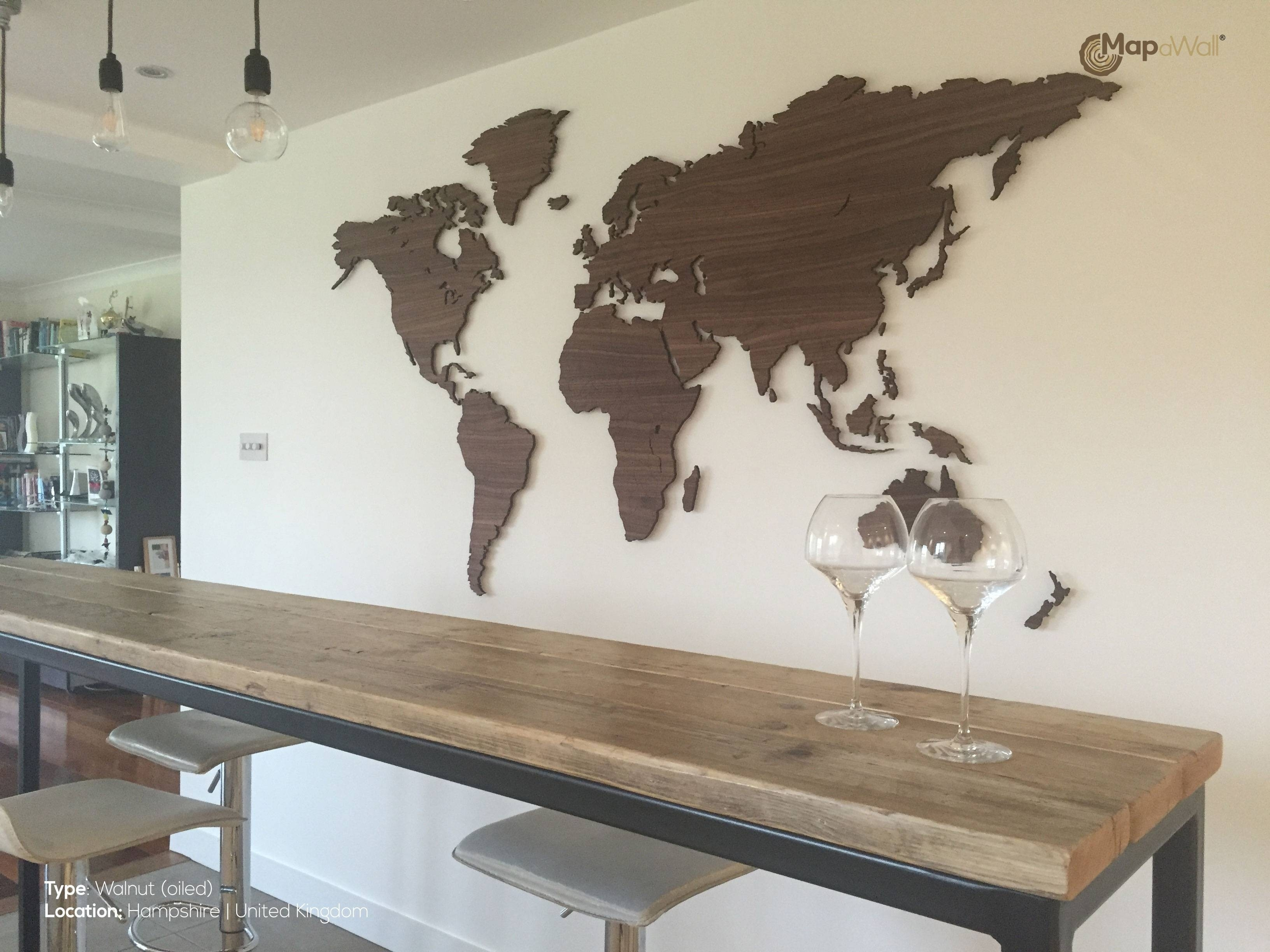 Top Wooden World Map Wall Art 10 – Link Italia With Cool Map Wall Art (View 12 of 20)